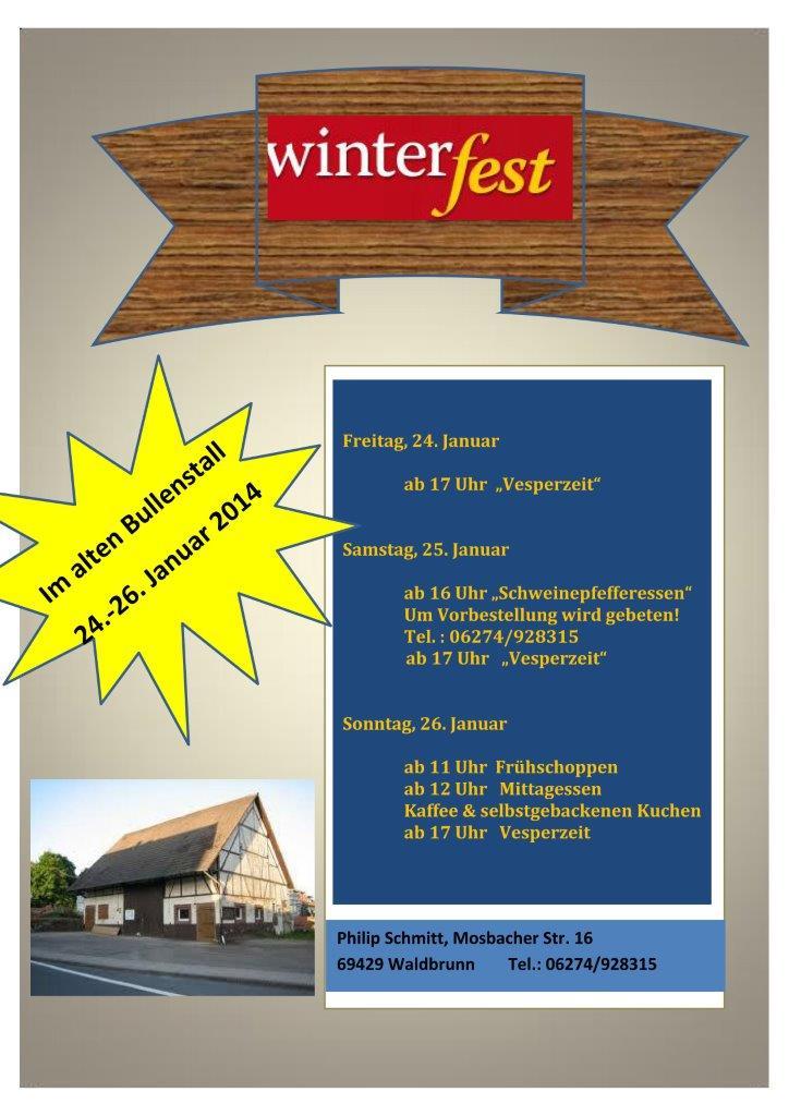 WinterfestScheune2014