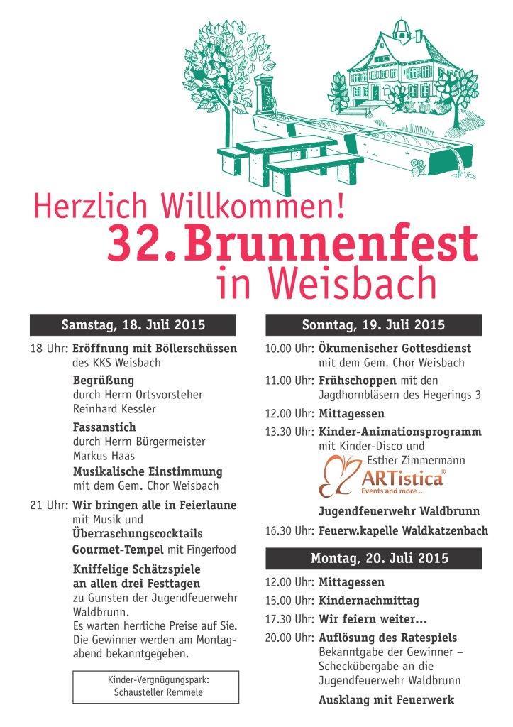 Brunnenfestplakat2015